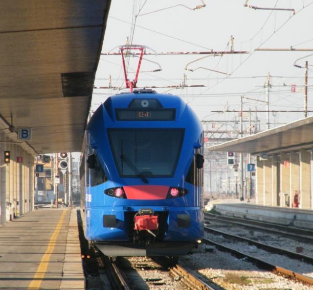 ETR 360.001 - in partenza da Venezia per Portogruaro
