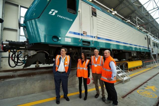 Trenitalia nuovo impianto manutentivo a verona ferrovie - Partenze treni verona porta nuova ...