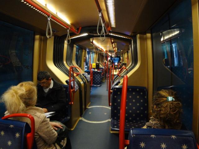 Confronto Padova - Zurigo: interni Translohr padovano