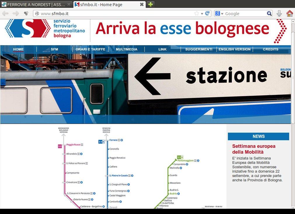 Sito ufficiale SFM Bologna