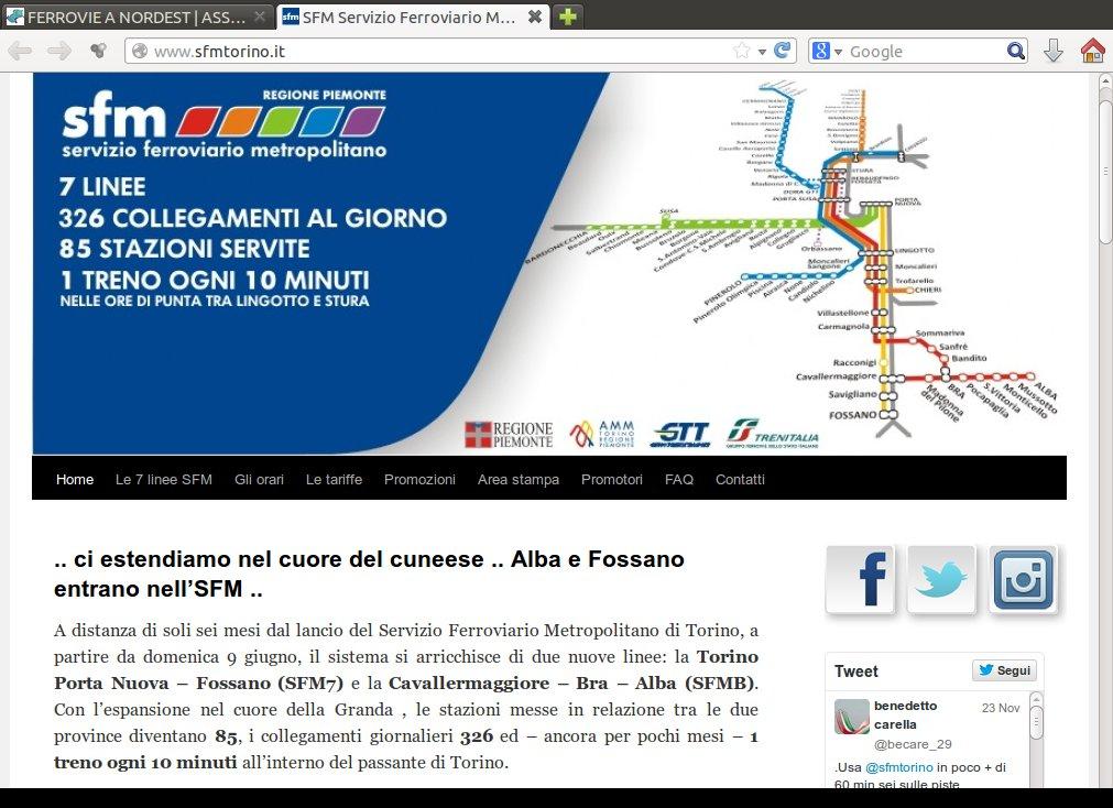 Sito ufficiale SFM Torino